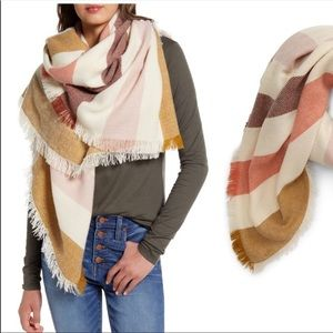 (Madewell) Striped Blanket Scarf